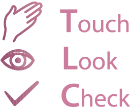 Touch, Look, Check